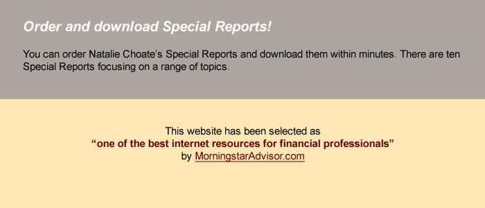 Order and Download Special Reports!